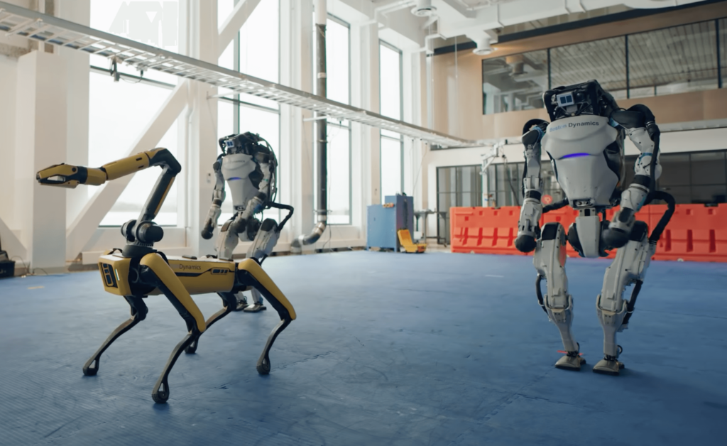 Boston Dynamics shares music video with dancing robots